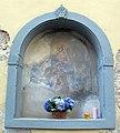 Montespertoli, tabernacolo con iscrizione e data 1655-56.JPG