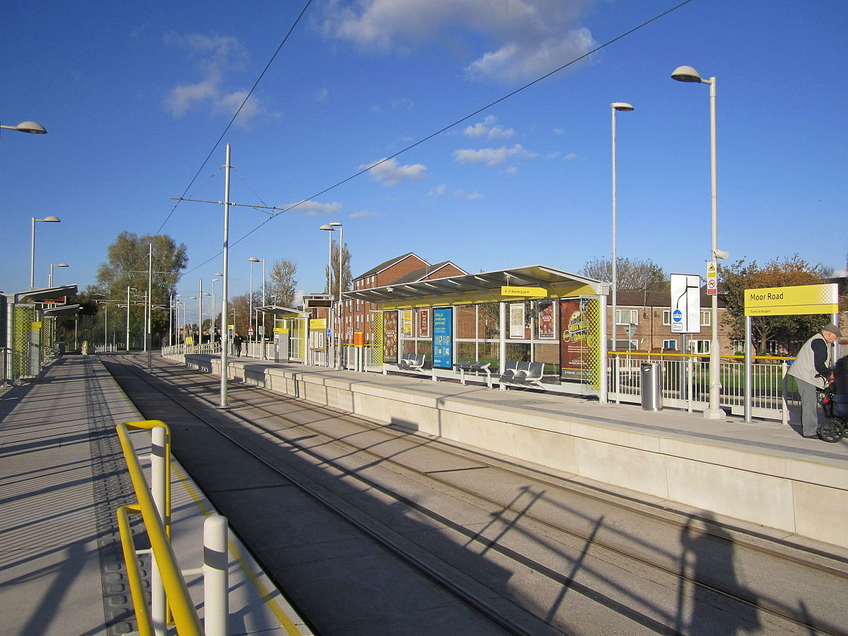 Px Moor Road Metrolink Station on Diagram View