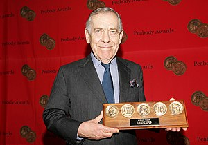 Morley Safer - Safer at the 64th Annual Peabody Awards, 2005