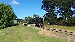 Mornington Railway's K163 as K177.jpg