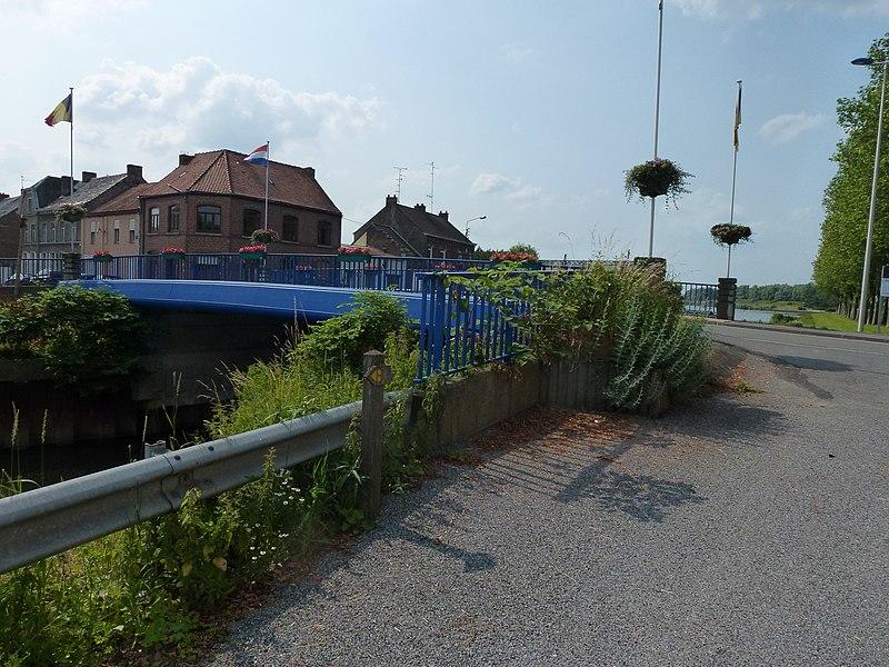 Mortagne-du-Nord (Nord, Fr) Pont de la Scarpe