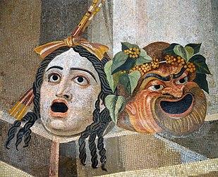 Risultati immagini per maschere teatro greco