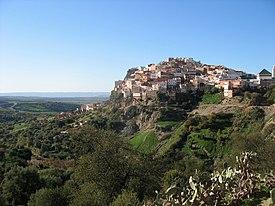 Zerhoun mountain and Moulay Idris Zarhoa town