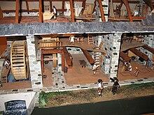journées du patrimoine les moulins a eau.gironde 220px-Moulin_%C3%A0_eau_des_J%C3%A9suites-maquette