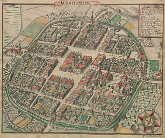 Duchy of Münsterberg - Münsterberg around 1750