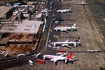 Chhatrapati Shivaji Maharaj International Airport-History-Mumbai Airport domestic aerial