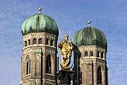 Munich - Maria column 05