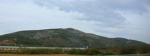 Cervera Mountains - Cervera Mountains. View from the north.