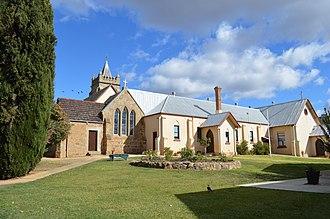 Murrumburrah - Image: Murrumburrah Roman Catholic Church 004