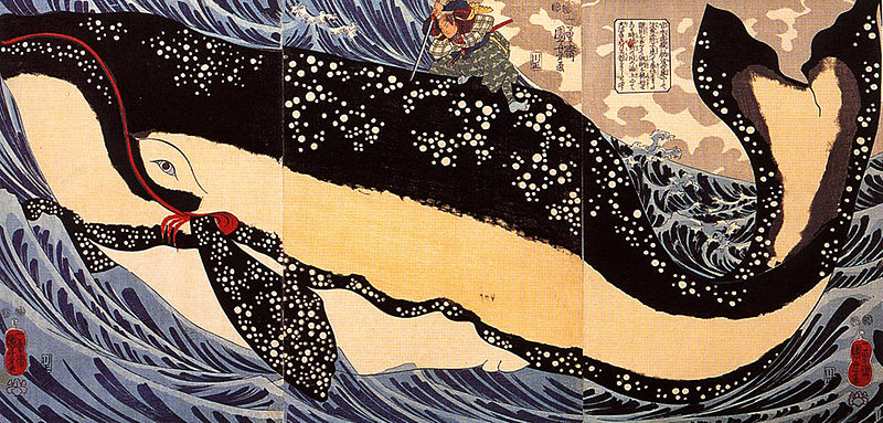Musashi Dueling the Whale of Tradition