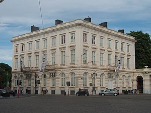 BELvue Museum - Hôtel Bellevue, home of the museum.