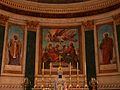 Nérac église St Nicolas choeur peintures.JPG