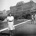 Női portré, 1943 Budapest. Fortepan 110.jpg