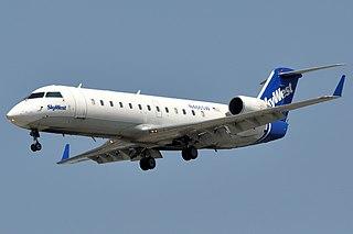 Bombardier CRJ100/200 Regional jet airliner