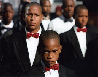 Nation of Islam - Members of the Nation of Islam, San Francisco, California, 1994