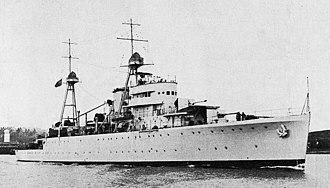 1936 Naval Revolt - Image: NRP Afonso de Albuquerque