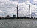 NRW, Düsseldorf - Rheinkniebrücke 01.jpg
