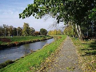 Prešov - Torysa riverbank in Prešov