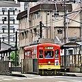 Nagasaki Electric Railway Ourakaigan-Dori tram stop (38100642221).jpg