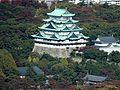 Nagoya Castle Keep Tower from Midland Square.JPG