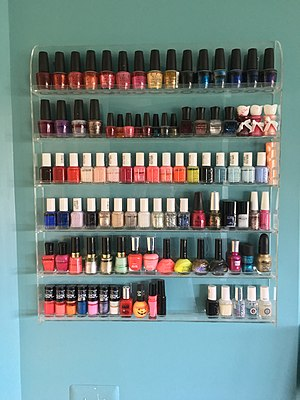 Nail polish - At home nail polish collection in the U.S.