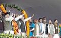 Narendra Modi addressed a large rally in Gorakhpur.jpg