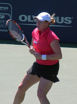Natalie Grandin - Grandin at the 2010 Bank of the West Classic