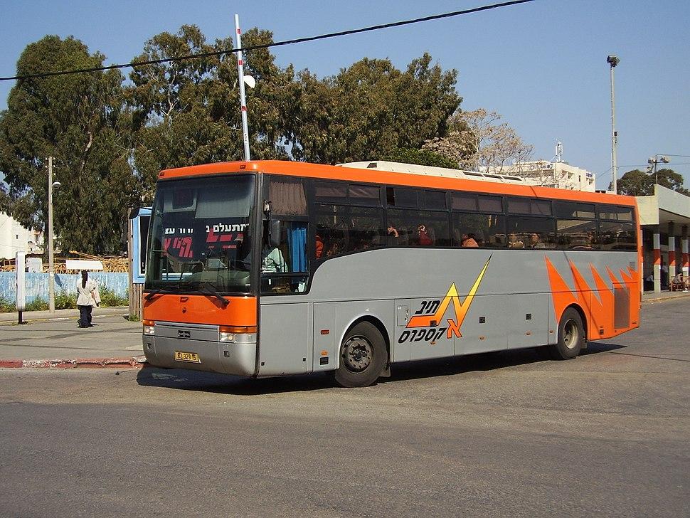 Nateev Express bus in Hadera 01