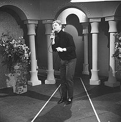 Nationaal Songfestival 1966. Bob Bouber, Bestanddeelnr 918-7521.jpg