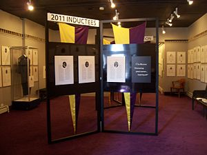National Women's Hall of Fame - Interior of the Hall of Fame