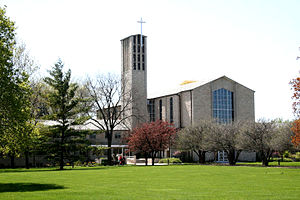 National Shrine of Saint Joseph (De Pere, Wisconsin) - St. Norbert Abbey in 2015