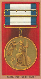 Naval Gold Medal. Cigarette Card.png
