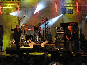 Nazareth (band) - Nazareth performing in 2009