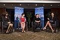 Neera Tanden, Valerie Jarrett, Tina Tchen, and Andrea Wishom, 2014.jpg