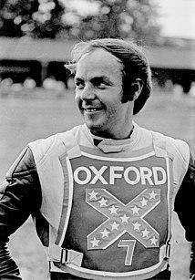 John Dews British motorcycle racer