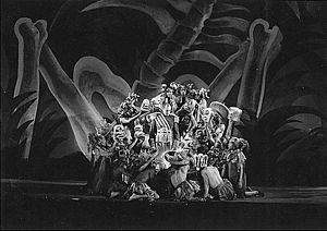 "John Houseman - W.P.A. Federal Theater Project in New York: Negro Theatre Unit: ""Macbeth"", ca. 1935."