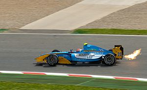 Nelson Panciatici - Panciatici driving for Durango at the Catalunya round of the 2009 GP2 Series season.