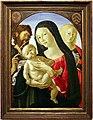 Neroccio di bartolomeo de' landi, madonna col bambino tra i ss. giovanni battista e maria maddalena, 1495 ca. 01.jpg