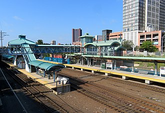 New Haven State Street station - New Haven State Street station in September 2018