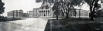 University at Albany, SUNY - New York State Normal College on Western Avenue in 1909
