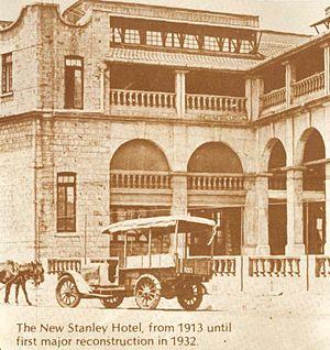 Stanley Hotel, Nairobi - New Stanley Hotel (1913)