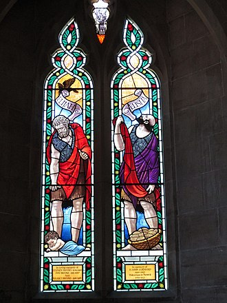 Cox & Barnard - A window at St Mary's Church, Newick