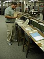 Newspaper clippings carey inspects (3820957461).jpg