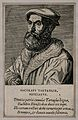 Niccolo Tartaglia. Line engraving after P. Galle. Wellcome V0005731.jpg