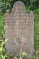 Nicholas Hickman Tombstone, Bethany Cemetery, 2015-06-11, 01.jpg