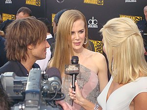 Português: Nicole Kidman no American Music Awa...