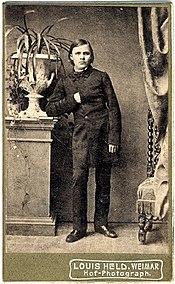 Friedrich Nietzsche, 1861.