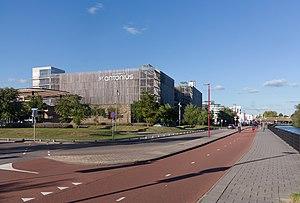Nieuwegein - Image: Nieuwegein, fietspad langs het Sint Antonius ziekenhuis foto 3 2016 10 05 16.52