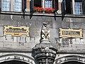 Nijmegen - Kerkboog gezien vanaf de Grote Markt - Wapen van Nijmegen.jpg