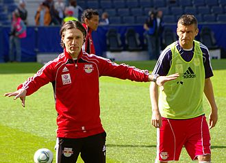 Niko Kovač - During Red Bull Salzburg match as assistant coach